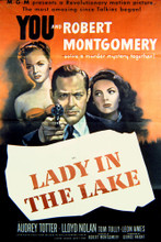 This is an image of Vintage Reproduction of Lady in the Lake 297123
