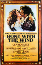 This is an image of Vintage Reproduction of Gone with the Wind 297683