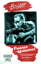 This is an image of Vintage Reproduction of Passage to Marseille 297696