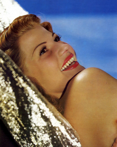 This is an image of Photograph & Poster of Rita Hayworth 298177