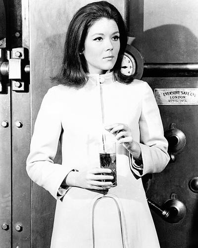 This is an image of Photograph & Poster of Diana Rigg 196147