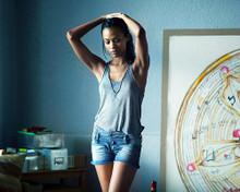 This is an image of Photograph & Poster of Zoe Saldana 287704