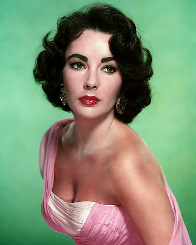 This is an image of Photograph & Poster of Elizabeth Taylor 288968