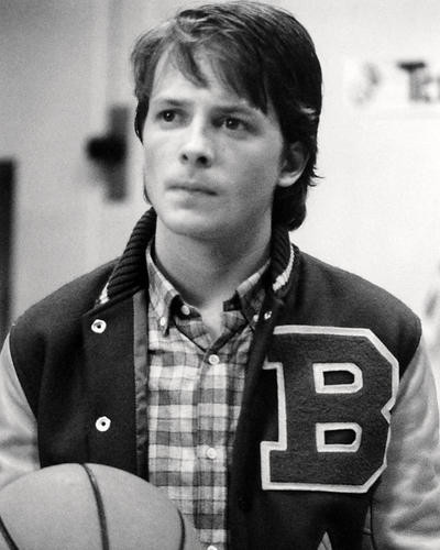 This is an image of Photograph & Poster of Michael J.Fox 198105