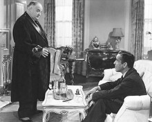 This is an image of 172070 Humphrey Bogart and Sidney Greenstreet Photograph & Poster