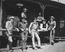 This is an image of 176593 The Magnificent Seven Photograph & Poster