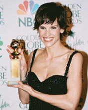 This is an image of 241450 Hilary Swank Photograph & Poster