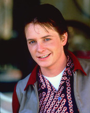 This is an image of 256173 Michael J.Fox Photograph & Poster