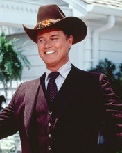 This is an image of 257244 Larry Hagman Photograph & Poster