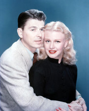 This is an image of 266507 Ronald Reagan & Ginger Rogers Photograph & Poster