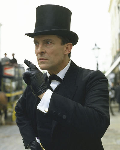 This is an image of 269559 Jeremy Brett Photograph & Poster