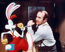 This is an image of 281053 Bob Hoskins Photograph & Poster