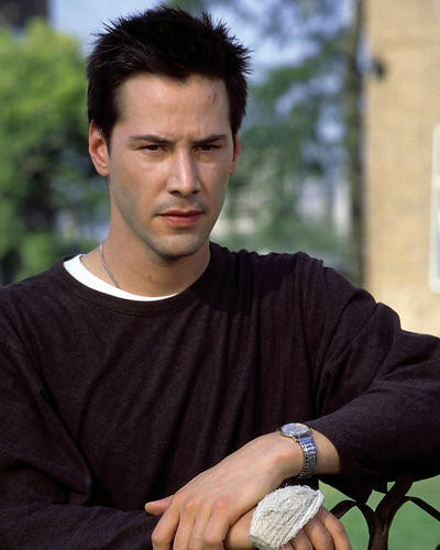This is an image of 281472 Keanu Reeves Photograph & Poster