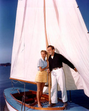 This is an image of 281565 Humphrey Bogart and Lauren Bacall Photograph & Poster