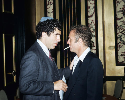 This is an image of 283158 James Caan and Elliot Gould Photograph & Poster