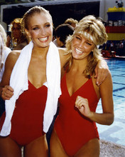 This is an image of 286541 Heather Thomas and Heather Locklear Photograph & Poster
