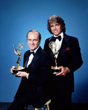 This is an image of 289190 Bob Newhart and Michael Landon Photograph & Poster