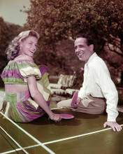 This is an image of 290071 Henry Bogart and Lauren Bacall Photograph & Poster
