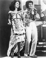 This is an image of 191040 Donny Osmond and Marie Osmond Photograph & Poster
