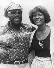 This is an image of 192290 Isaac Hayes and Dionne Warwick Photograph & Poster