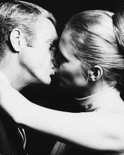 This is an image of 169741 Steve Mcqueen & Faye Dunaway Photograph & Poster