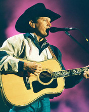 This is an image of 252155 George Strait Photograph & Poster
