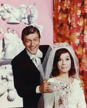 This is an image of 255145 Dick Van Dyke and Mary Tyler Moore Photograph & Poster