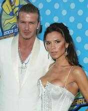 This is an image of 255500 Victoria Beckham & David Beckham Photograph & Poster