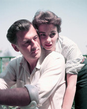 This is an image of 256278 Jean Simmons & Stewart Granger Photograph & Poster