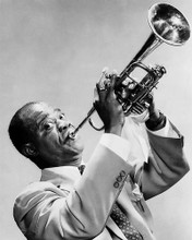 This is an image of 174965 Louis Armstrong Photograph & Poster
