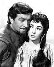 This is an image of 187749 Robert Taylor and Elizabeth Taylor Photograph & Poster