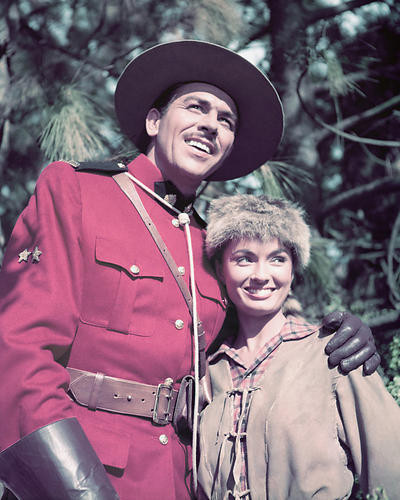 This is an image of 278131 Howard Keel & Ann Blyth Photograph & Poster