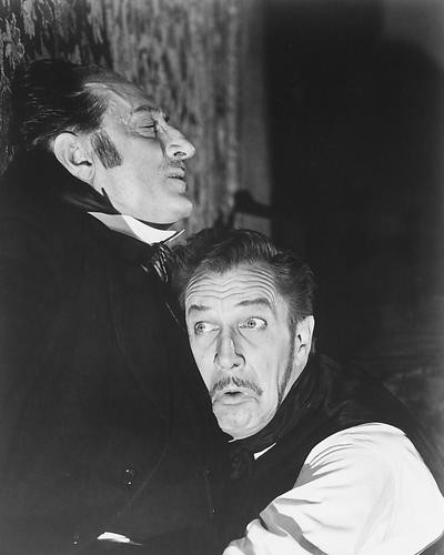 This is an image of 188992 Comedy of Terrors Photograph & Poster