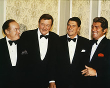 This is an image of 220255 John Wayne & Ronald Reagan Photograph & Poster