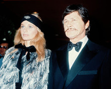 This is an image of 234492 Charles Bronson & Jill Ireland Photograph & Poster