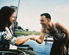 This is an image of 215021 Tom Hanks & Gary Sinise Photograph & Poster