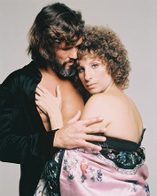 This is an image of 219723 Barbra Streisand & Kris Kristofferson Photograph & Poster