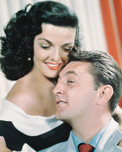 This is an image of 230603 Robert Mitchum & Jane Russell Photograph & Poster