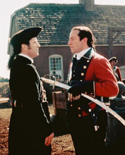 This is an image of 242554 Mel Gibson & Jason Isaacs Photograph & Poster
