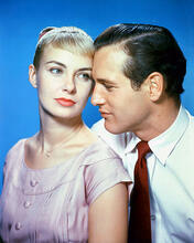 This is an image of 246134 Paul Newman and Joanna Woodward Photograph & Poster