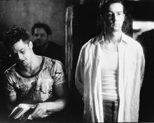 This is an image of 169367 Brad Pitt & Edward Norton Photograph & Poster