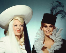 This is an image of 241911 Mae West & Raquel Welch Photograph & Poster
