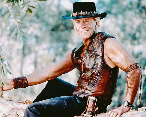 This is an image of 246940 Paul Hogan Photograph & Poster