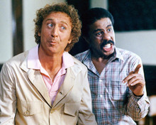 This is an image of 247962 Gene Wilder & Richard Pryor Photograph & Poster