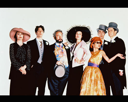 This is an image of 248143 Four Weddings and a Funeral Photograph & Poster