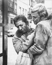 This is an image of 172460 Dustin Hoffman & Jon Voight Photograph & Poster