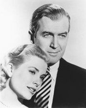 This is an image of 172470 James Stewart and Grace Kelly Photograph & Poster