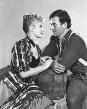 This is an image of 172514 John Wayne and Claire Trevor Photograph & Poster