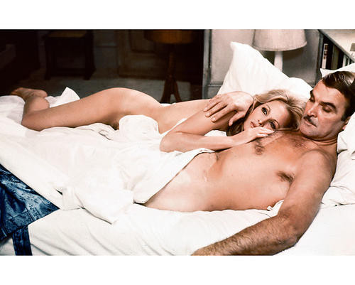 This is an image of 250520 Ursula Andress & Stanley Baker Photograph & Poster
