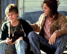 This is an image of 254373 Johnny Depp & Leonardo Dicaprio Photograph & Poster